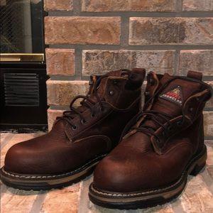Men's New Steel Toe Work Boots